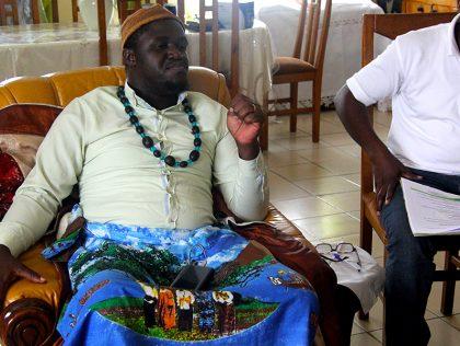 Peuples Autochtones: Interview de sa majesté Bebey Elame chef du canton Bonejang d'Akwa